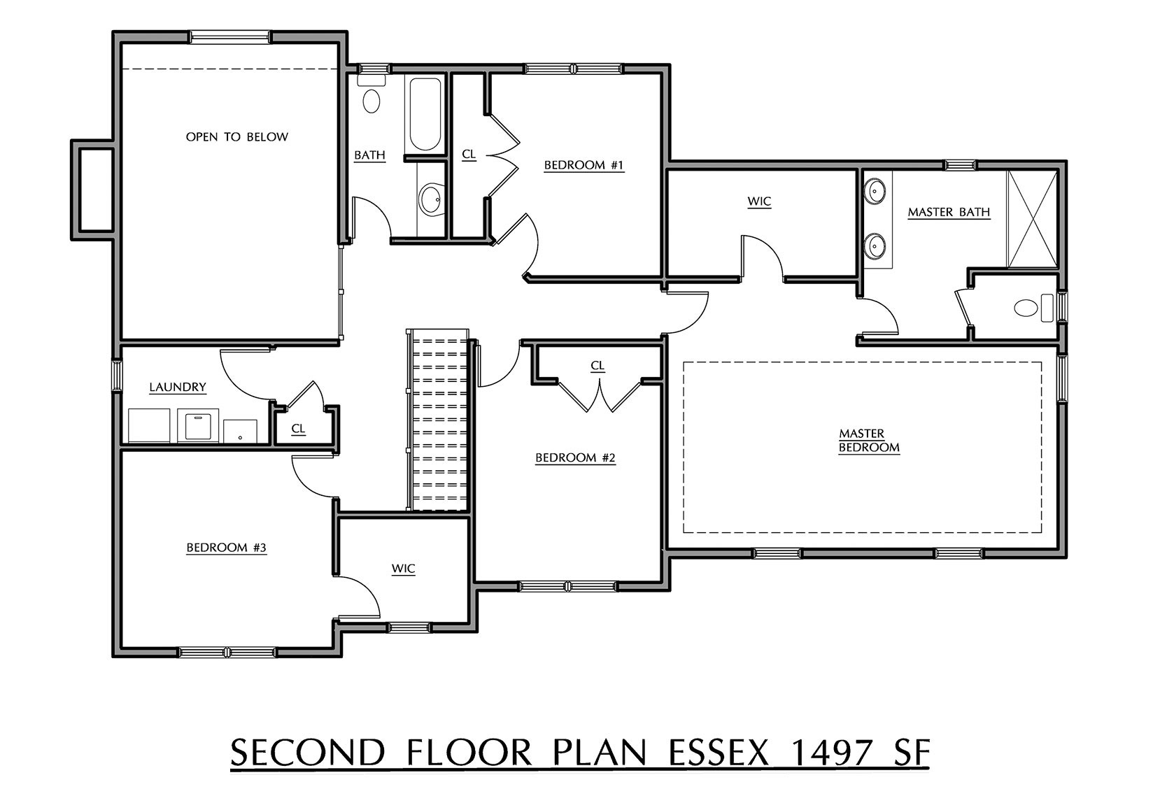 Essex - Second Floor Plan